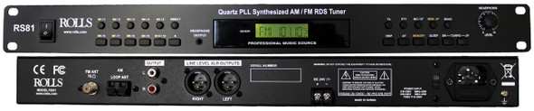 Rolls RS81 Digital FM/AM Tuner