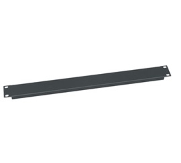 "Rack Panel - 1 Space - 19"" - Flat Black"