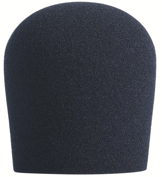 BLACK SupremeFit™ Handheld Microphone Windscreen - 1PAK