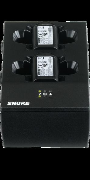 Shure SBC200-US DUAL Charging Dock for 2 Lithium-ion SB902 Batteries or 2 GLXD1 Beltpacks