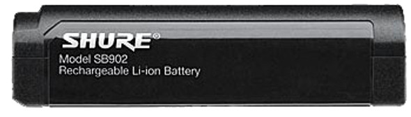 Shure GLXDBAT Lithium-ion SB902 Battery for GLXD1 Beltpack