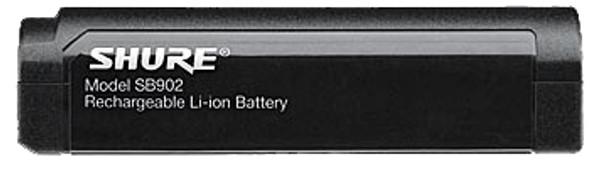 Shure GLXDBAT Lithium-ion SB902 Battery for GLXD1 Beltpack