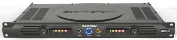 Samson Servo Power Amplifier - SA120A - 120 Watt Power Amplifier - 1 Rack Unit