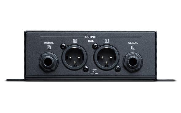 Denon DN-200BR Stereo Bluetooth Audio Receiver  - Rear View