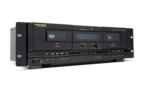 Marantz PMD-300CP Dual Cassette Recorder/Player with USB