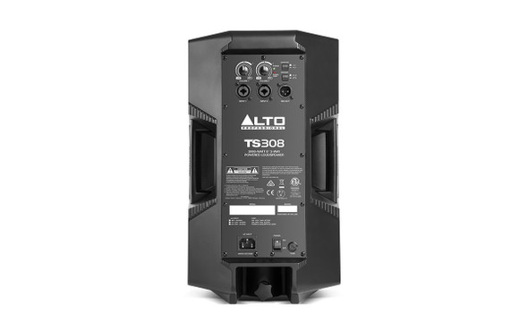 Alto Professional TS308 2000-watt 8-Inch 2-Way Powered Speaker  - Rear View