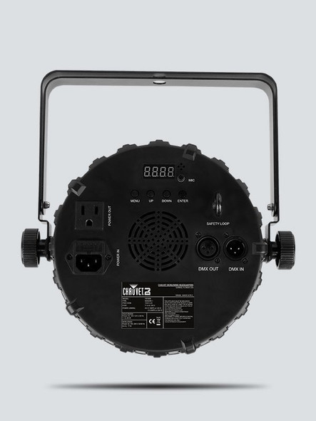 CHAUVET DJ FXpar 9 Multi-Effect Fixture - Rear View