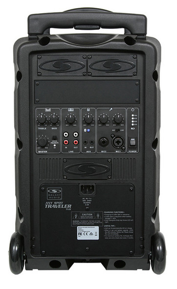 Galaxy TV8-00000000K9 - Basic System: (no CD Player or Wireless Microphone system)
