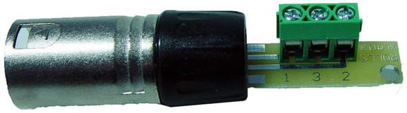 Rolls XLM113 XLR (Male) to Screw terminal adapter
