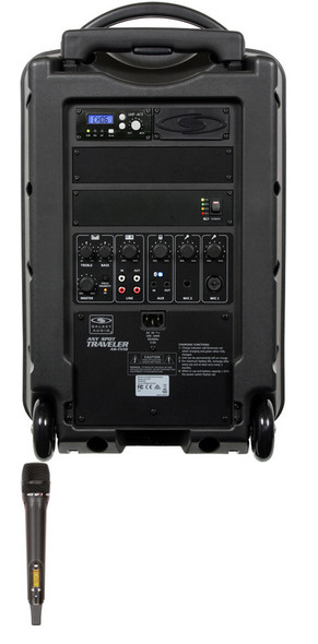 Galaxy Audio GAL10HH1 TV10 AC/Battery-Powered 150 Watt Portable Sound System - Basic System + 1 Handheld System (no CD)