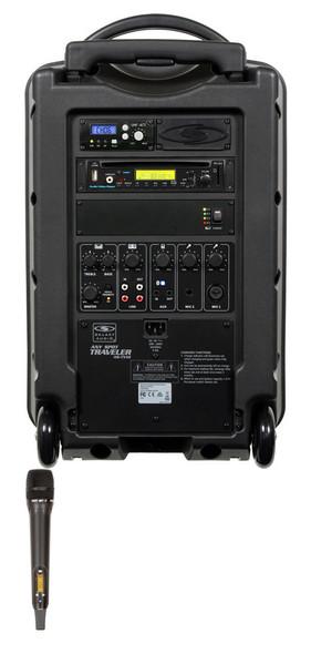 Galaxy Audio GAL10HH1CD TV10 AC/Battery-Powered 150 Watt Portable Sound System - Basic System + CD + 1 Handheld System