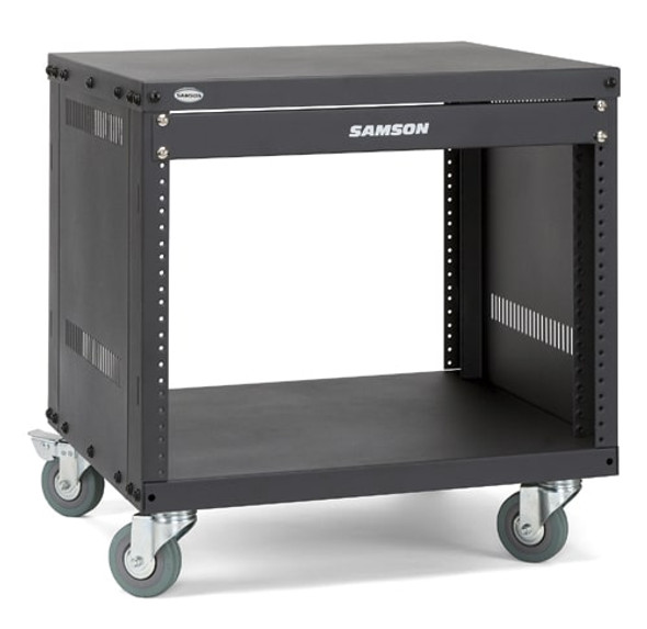 Samson SRK8 8-space Universal Equipment Racks with Wheels