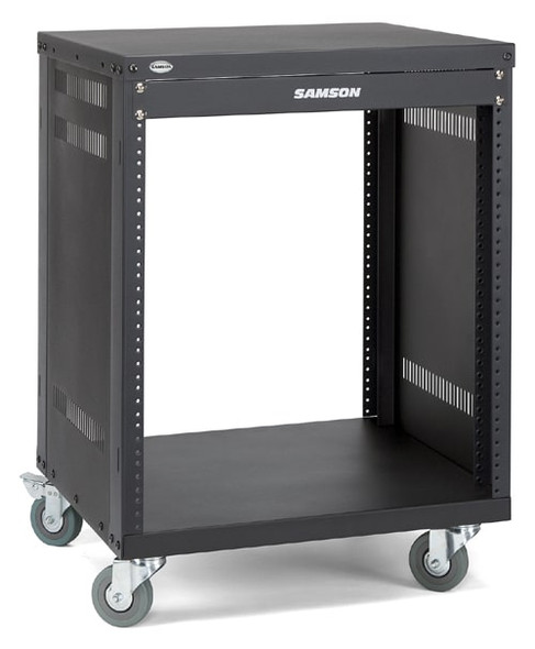 Samson SRK12 12-space Universal Equipment Racks with Wheels