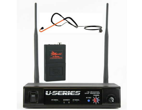 Fitness Audio UHF System with Cyclemic Headset