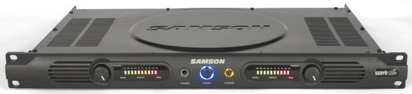 Samson Servo Power Amplifier - SA120A - 120 Watt Power Amplifier - 1 Rack Unit