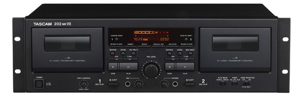 Tascam 202MKVII Dual Cassette Deck