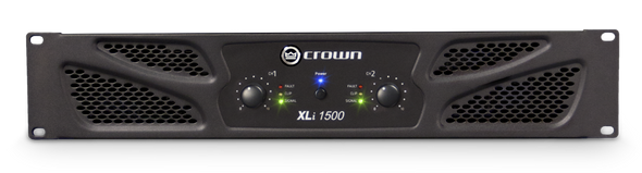 Crown Audio XLi 1500 Power Amplifier - 330W @ 8 Ohms