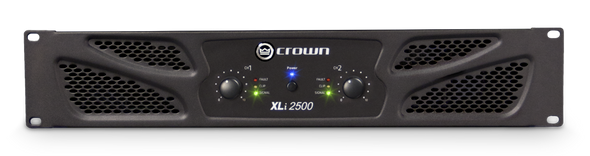 Crown Audio XLi 2500 Power Amplifier - 500W @ 8 Ohms
