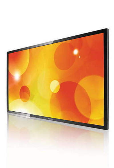 Philips Q-Line Virtual Fitness/Digital Signage Commercial Display