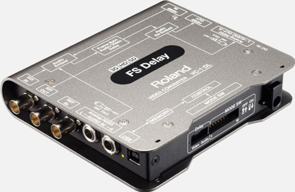 Roland VC-1-DL FS Delay Video Bi-directional SDI/HDMI Converter with Delay and Frame Sync
