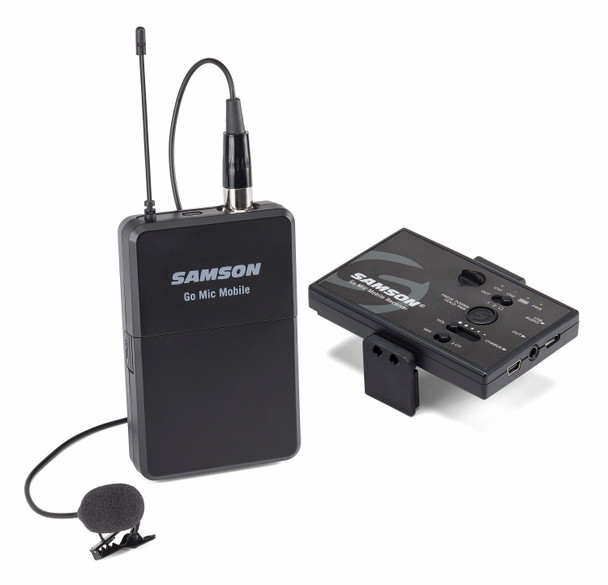 Samson Go Mic Headworn Microphone Mobile Kit
