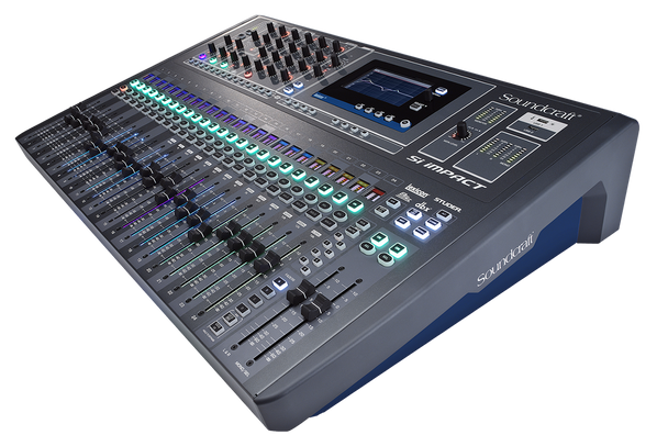 Soundcraft Si Impact 40-input Digital Mixing Console and 32-in/32-out USB Interface and iPad Control.  Special order, non-cancellable.
