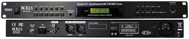 Rolls RS81 Digital FM/AM Tuner