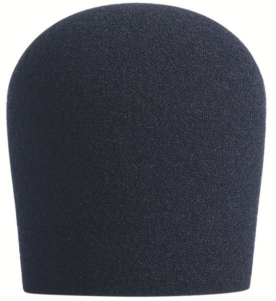 BLACK SupremeFit™ Handheld Microphone Windscreen - 1PAK