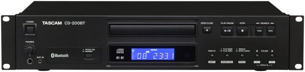 Tascam CD-200BT CD Player with Bluetooth Receiver