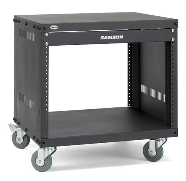 Samson SRK8 8-space Universal Equipment Racks with Wheels