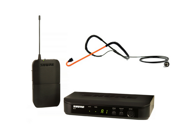 Shure BLX UHF System(BLX4 Receiver + BLX1 Beltpack) + Cyclemic CM11H-SH - $689.99