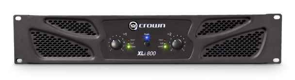 Crown Audio XLi 800 Power Amplifier - 200W @ 8 Ohms