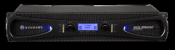 Crown XLS-2502 2-Channel, 440W @ Ohms Power Amplifier - Front View
