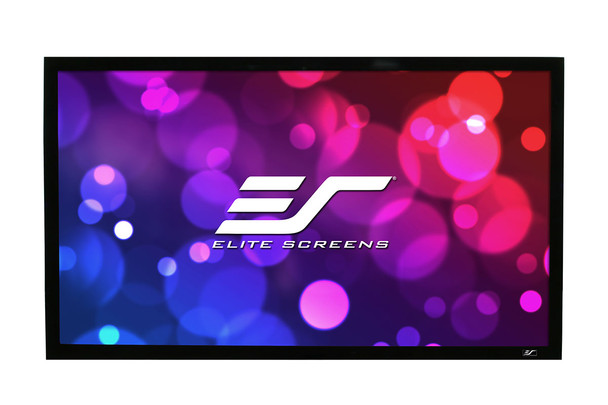 Elite Screens R150WH2 ezFrame 2 Series Fixed Frame Projector Screens.  2 year limited warranty by Elite Screens.