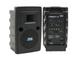 Anchor Audio LIBERTY LIB2-XU2 Portable Sound System - Front & Rear View