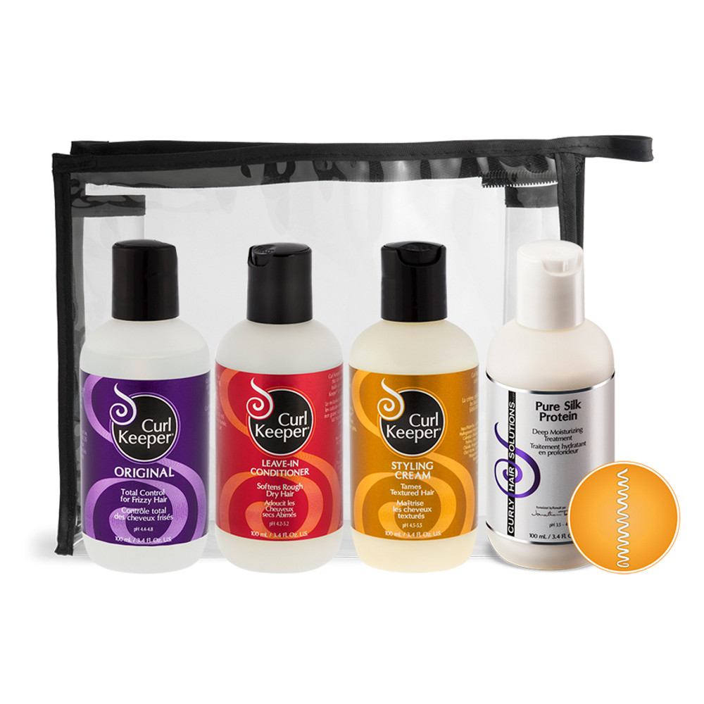 Curly Hair Solutions Kinky Curl Kit