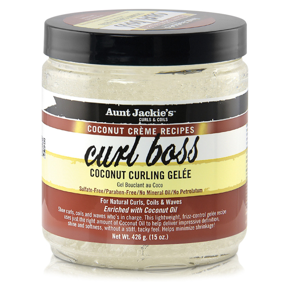 Aunt Jackie's Coconut Creme Recipes Curl Boss Coconut Curling Gèlee (16 oz.)