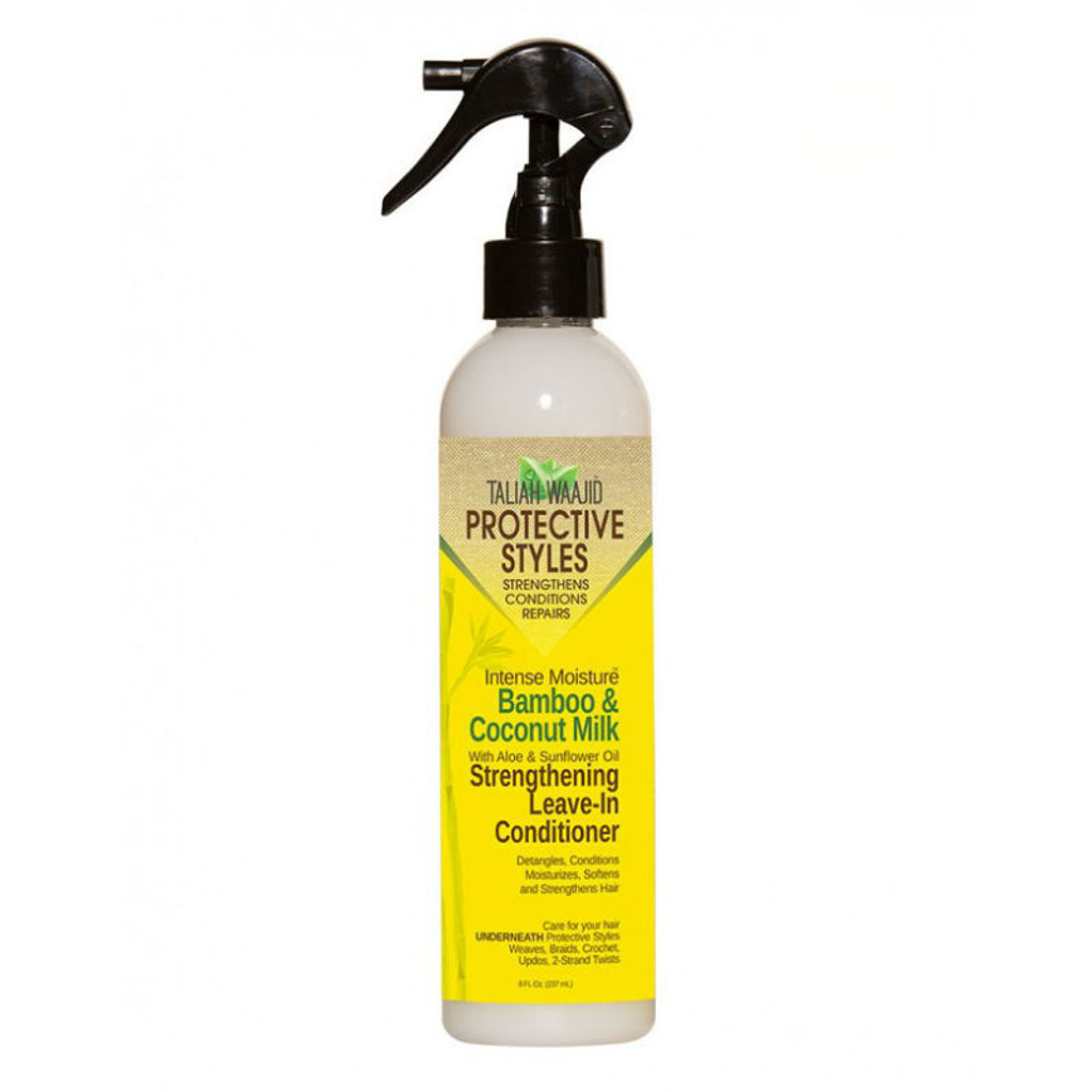 Taliah Waajid Protective Styles Intense Moisture Bamboo And Coconut Milk Strengthening Leave-in Conditioner (8 oz.)