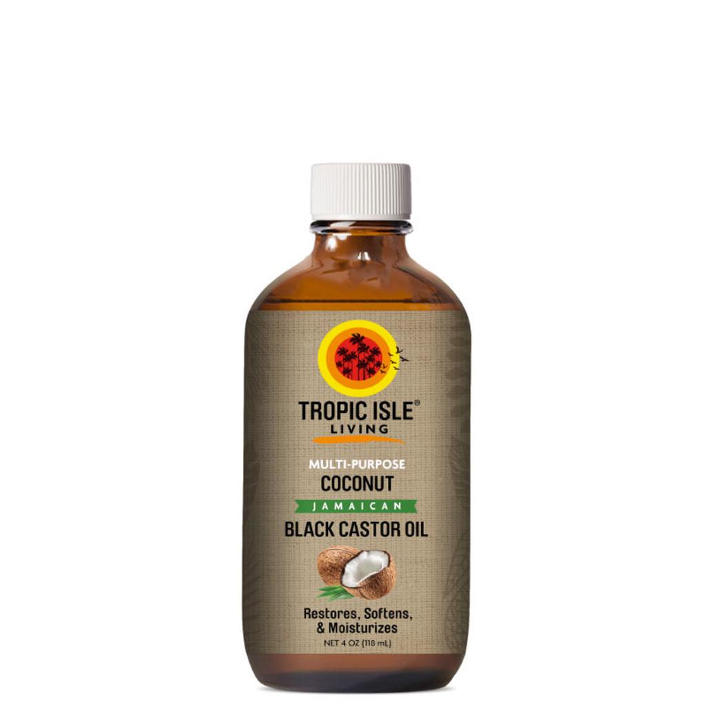 Tropic Isle Living Coconut Jamaican Black Castor Oil (4 oz.)