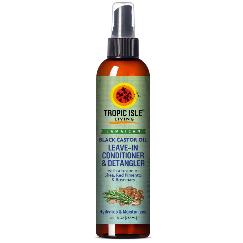 Tropic Isle Living Jamaican Black Castor Oil Leave-In Conditioner & Detangler (8 oz.)