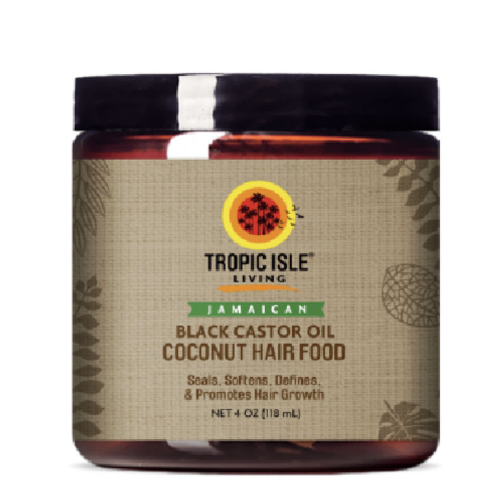 Tropic Isle Living Coconut Jamaican Black Castor Oil Hair Food (4 oz.)