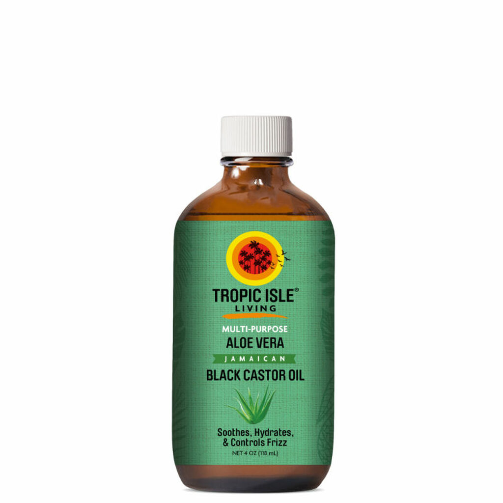 Tropic Isle Living Aloe Vera Jamaican Black Castor Oil (4 oz.)
