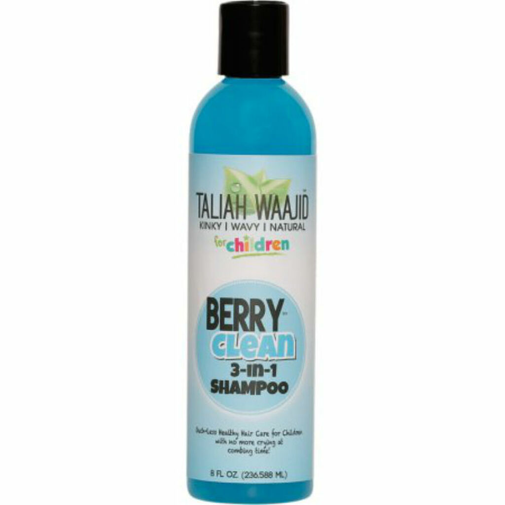 Taliah Waajid Kinky, Wavy & Natural for Children Berry Clean 3-in-1 Shampoo (8 oz.)