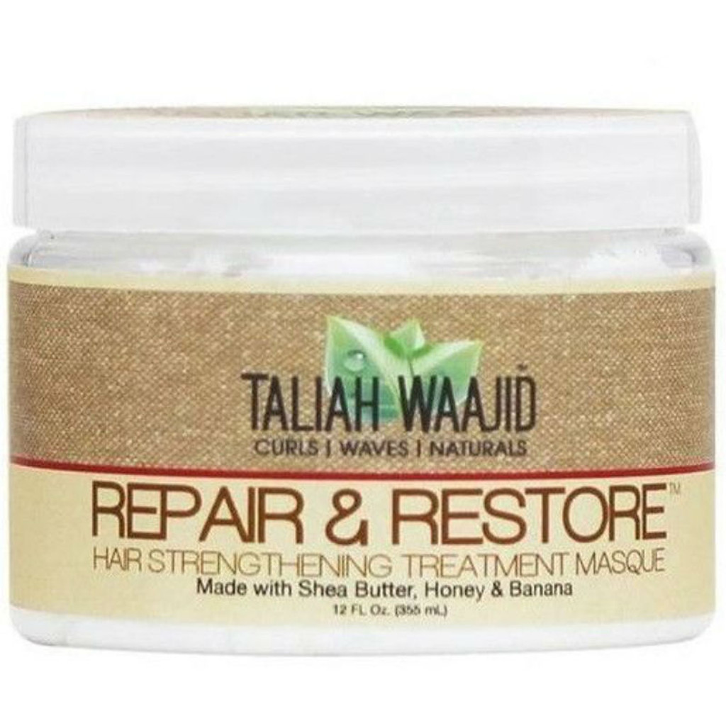 Taliah Waajid Curls, Waves & Naturals Repair & Restore Hair Strengthening Masque (12 oz.)