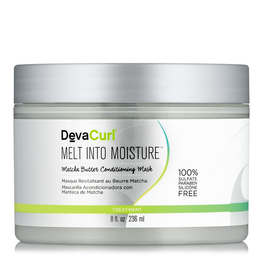 DevaCurl Melt Into Moisture Matcha Green Tea Butter Conditioning Mask (8 oz.)