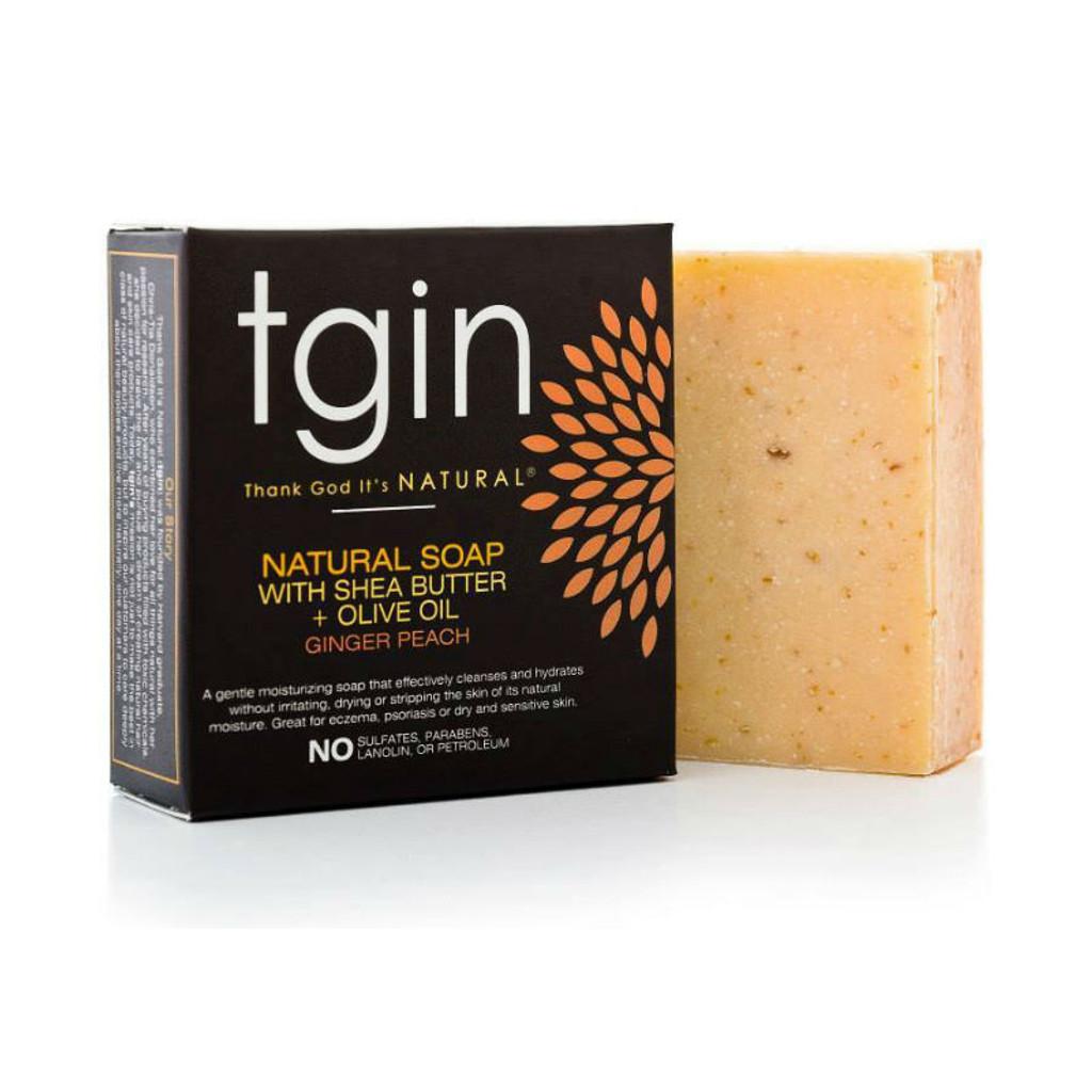 tgin Olive Oil Soap - Ginger Peach (4 oz. Bar)