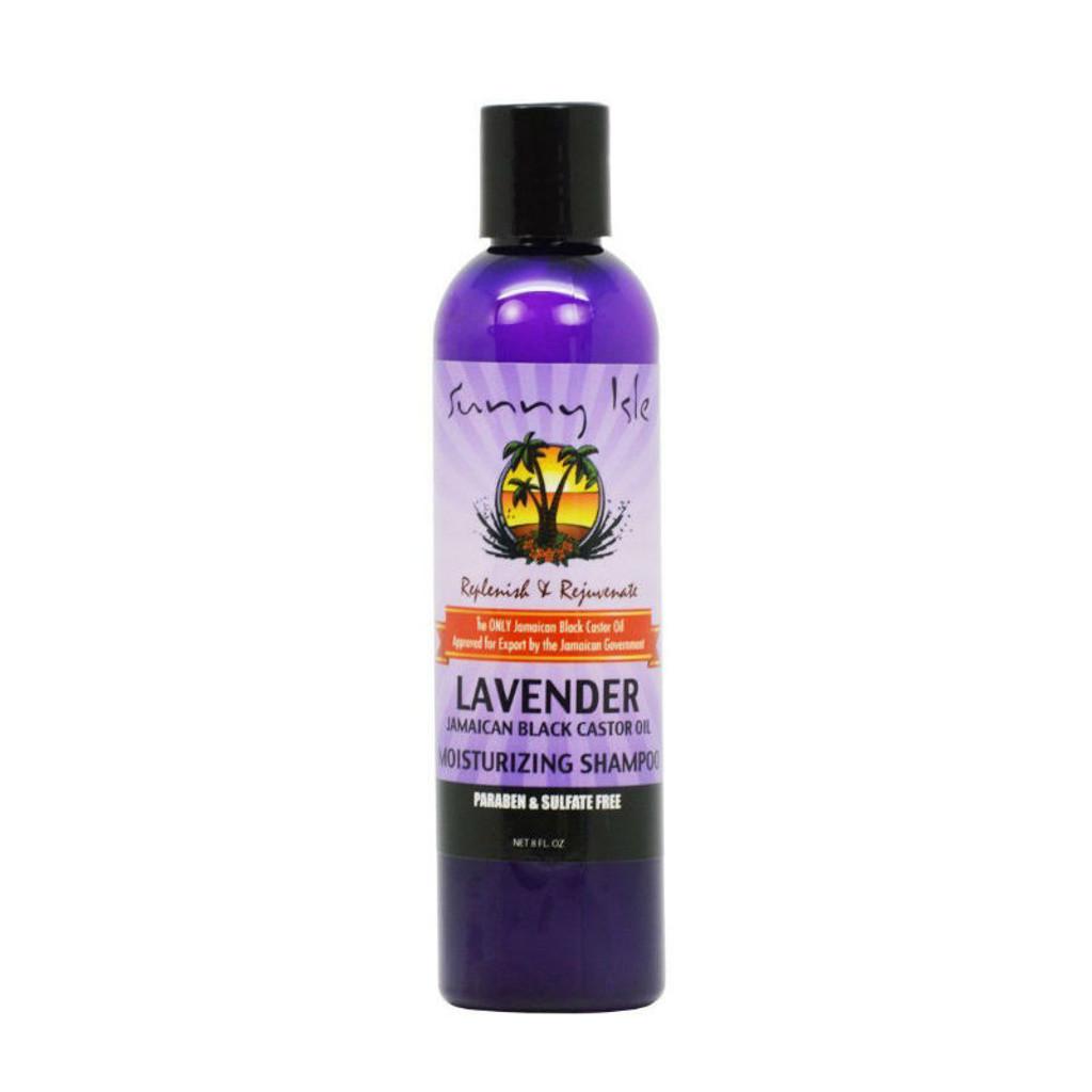 Sunny Isle Lavender Jamaican Black Castor Oil Moisturizing Shampoo (8 oz.)