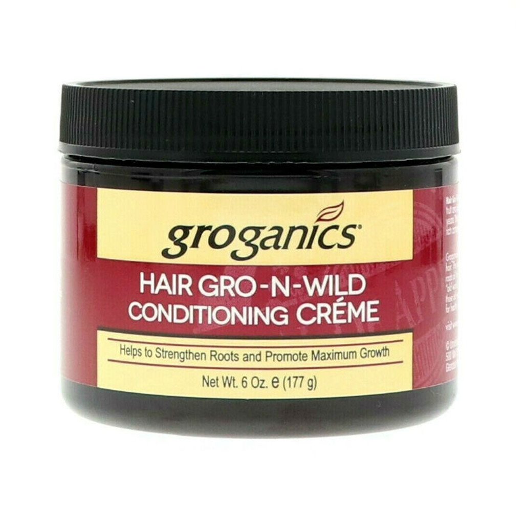 Groganics Hair Gro-N-Wild Conditioning Creme (6 oz.)