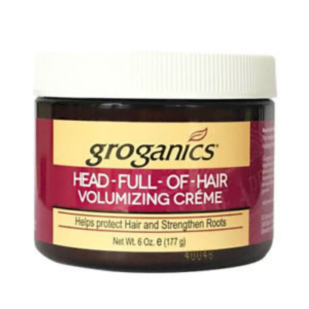 Groganics Head Full of Hair Volumizing Creme (6 oz )