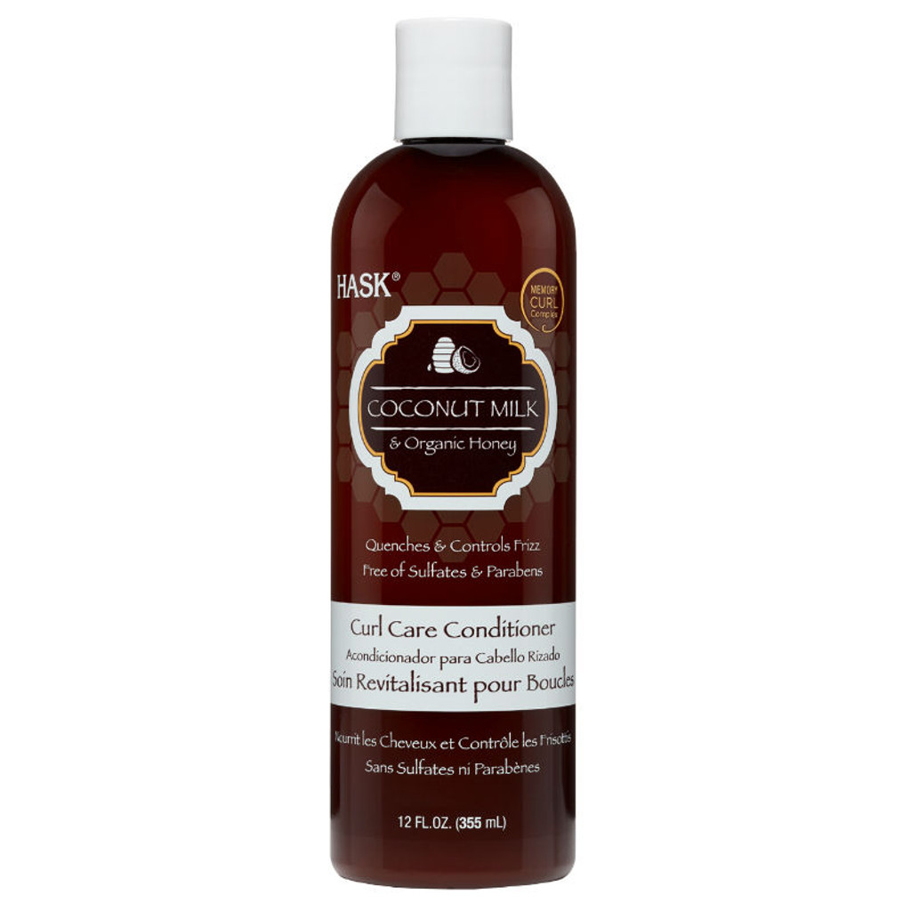 HASK Coconut Milk & Organic Honey Curl Care Conditioner (12 oz.)